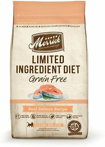 Merrick Limited Ingredient Diet Grain Free Dry Cat Food Salmon