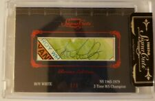 ROY WHITE 2011 TriStar SignaCuts Bronx Edition Ruby AUTO Autograph #1/5 EBAY 1/1