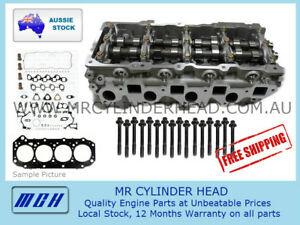 ZD30 COMPLETE Cylinder Head Kit for Nissan PATROL GU 3.0L Assembled ZD30DDTI