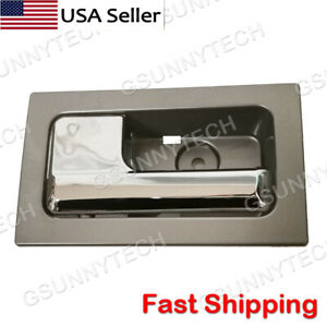 For 09-14 Ford F150 Inside Interior Door Handle Chrome Front or Rear Left/Driver