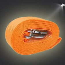 "Tow Rope Strap 20' x 3"" 20,000lb Capacity Heavy Duty Towing Nylon 20 Feet"