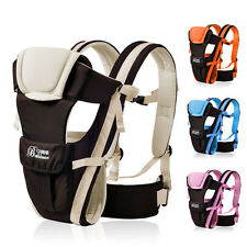 Breathable Baby Carrier Kid Pouch Toddler NewbornWrap Front Back Infant Backpack