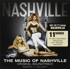 THE MUSIC OF NASHVILLE SOUNDTRACK CD