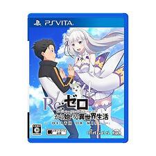 Re:Zero kara Hajimeru Isekai Seikatsu Death of Ki PS Vita SONY JAPANESE JAPANZON