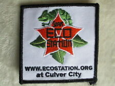"Eco Station Patch - Culver City, California - 3 1/8"" x 3 1/8"""
