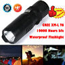 6000 LM G700 X800 Gree T6 LED Tactical Mini Flashlight Zoom Military Torch Light