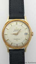 Vintage 18k Gold Working 564 Omega Constellation Pie Pan Dial Watch to Restore