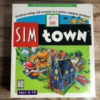 SEALED! Sim Town SimTown Kids Simulation Software 1996 Maxis Windows/Mac CDROM