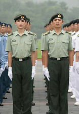 Obsolete 07's China PLA Army Man Officer Summer Short-sleeved Uniform,Set,A