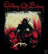 CHILDREN OF BODOM cd cvr Blooddrunk HELLHOUNDS Official SHIRT LAST MED OOP nbp