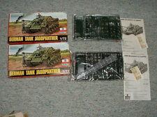 Esci HO 1/72 #8009 German Tank Jagdpanther- 2 boxes
