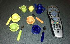 Miniature Porcelain Tea Set, Perfect for dolls house
