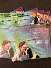 5 Snoozer Odor Adios Pads ~ Reusable Activated Carbon Fabric Inserts ~ NIP