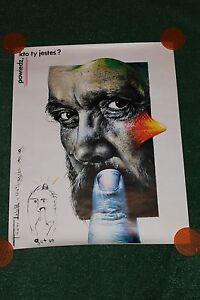 Original 80's Vintage~Eugeniusz Get-Stankiewicz~Polish Art Poster Puppet~Theater