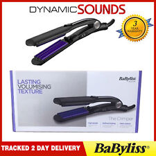 Babyliss 2165BU Pro Crimper 210 Tourmaline Ceramic Iconic Retro Hair Styling