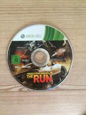 Necesidad de velocidad: la carrera para Xbox 360 * * disco solamente