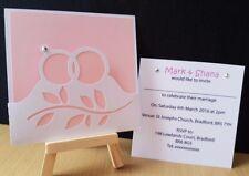 WEDDING RINGS Pocket Handmade Invitations – Wedding, Celebration, 10 Invites