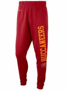 New Tampa Bay Buccaneers Nike Sideline Stadium Collection History Jogger Pants