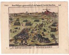 Gravure XVII Hardenberg Hardenbereh Hardenbergerheide Pays Bas Nederland 1616
