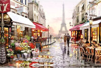 2020 Paris Painting Educational 1000 Piece Jigsaw Puzzle Adults Kids Puzzle Toy