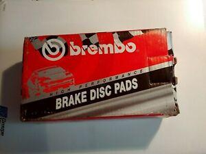 Brembo D412 Front High Performance Brake Pads : Mustang/Vette/Camaro