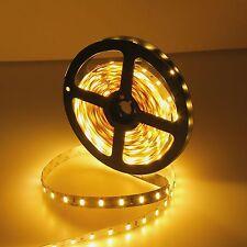 16.4ft 5630 300SMD Warm White DIY LED Strip Light Flexible Car Lamp DC 12V