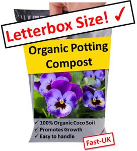 POTTING COMPOST 🌺 INDOOR PLANT & FLOWER SOIL DISC, LETTERBOX SIZE ✉️ 500ml