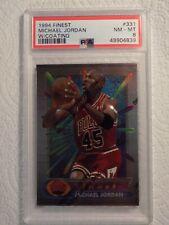 Michael Jordan PSA Graded NM/MT w/ Coating 1994/95 Topps Finest #331