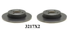 Set of 2 Front Brake Rotors Fit Nissan, Puslar , Sentra, Tsurs , Base On Fitmnet