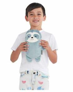 Stuffed Sloth & Sweatshirt Transforming Kid Hoodie Becomes Stuffed Animal SIZE 8