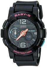 Casio G-Shock Womens BGA-180-1BDR Glide with Tide Graph Baby-G Series Watch