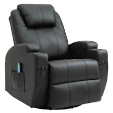 Massagesessel Fernsehsessel Relaxsessel mit Wärmefunktion 360°drehbar TV Sessel