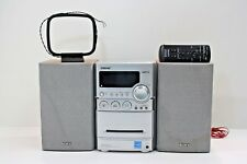 SONY CMT-NEZ3 Micro Hi-Fi Component Bookshelf System CD Cassette AM/FM ~ TESTED