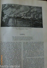 Leeds Ware Pottery Kitsons Works Yorkshire Antique Victorian  Rare Article 1888