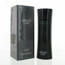Armani Code by Giorgio Armani for Men 6.7 oz Eau de Toilette Spray NIB Sealed