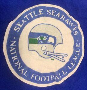VINTAGE SEATTLE SEAHAWKS NFL FOOTBALL PENDLETON WOOL STADIUM BLANKET W/BAG