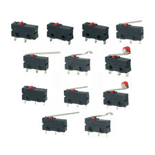 5pcs Mini Micro Limit Switch No Nc 3 Pins Pcb Terminals Spdt 5a 125v 250v 29mm