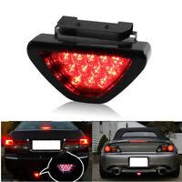 Triangle Flash LED Motorcycle Rear Tail Fog Light ATV Car SUV Brake Warming Lamp