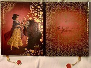 Disney Fairytale Designer Doll Collection Journal Snow White Old Hag Evil Queen