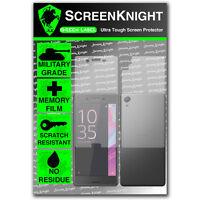 ScreenKnight Sony Xperia X FULL BODY SCREEN PROTECTOR invisible military shield