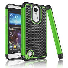 For LG Aristo / LG K8 2017 / LG LV3 Hybrid Shockproof Hard Slim Phone Case Cover