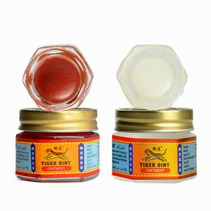 TIGER BALM RED OINTMENT FOR MUSCLE PAIN ACHES THAI HERBAL RELIEF MASSAGE RUB