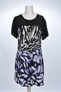 Jerseykleid mit transparentem Einsatz von Debenhams Gr 38 M - Neuwertig