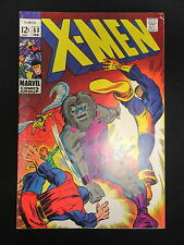 X-Men #53 The Rage of Blaster Fine/Vg 1969 1st Barry Windsor-Smith Work - Marvel