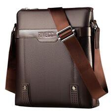 Shoulder Bag for Men. Cross-body Bag for your Wallet, Phone, iPad (Brown)