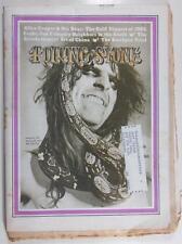 ROLLING STONE MAR 30 1972 ALICE COOPER ALLEN KLEIN YES MUSIC TECHNIQUE