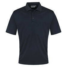 Mens Polo Shirts Short Sleeve Breathable Regular Fit Pique Work Casual Plain Top