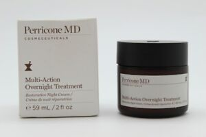 Perricone MD Multi-Action Overnight Treatment Restorative Night Cream, .2 oz NWB