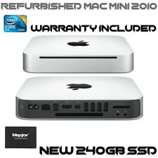 Apple Mac Mini 4,1 A1347 (Mid 2010) Intel Core 2 Duo 2.4GHz, 8GB RAM, 240GB SSD