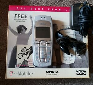 Nokia T Mobile 6010 Cell Phone W/ Charger & Headset GSM 1900 mint. Condition !